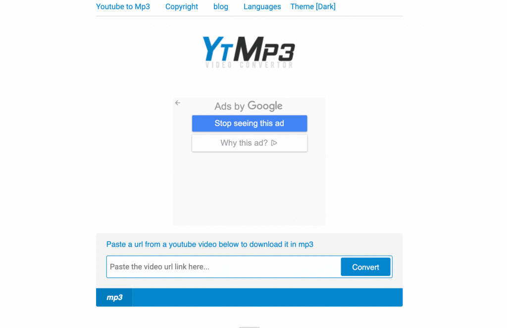 YTMP3 – online nástroj na stahování hudby z YouTube online a zdarma